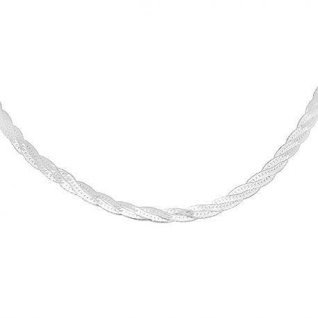 Cadena de plata de ley CAP09